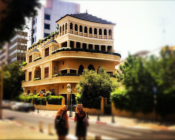 Pagoda House in Tel Aviv by www.yourway.co.il