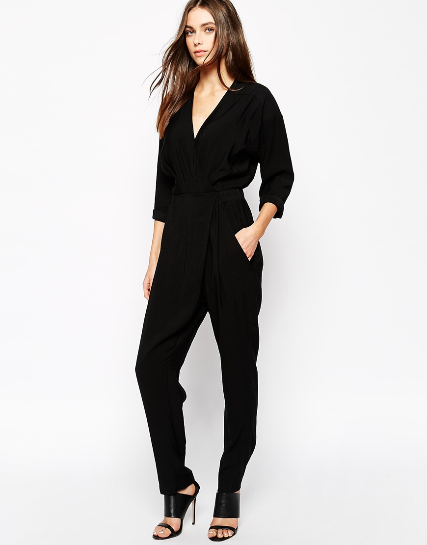 Whistles Eliza Crossover Jumpsuit - Click here for shopping.